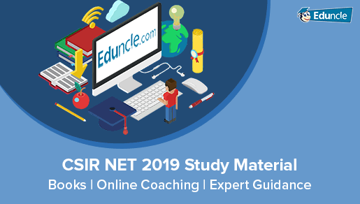 CSIR NET 2019 Books, Coaching, Online Study Material - Free