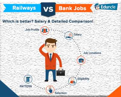 Railways vs Bank Jobs: Which is better? Salary & Detailed Comparison!