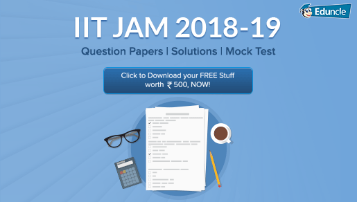 IIT JAM Previous Question Paper with Solution FREE PDF (2019